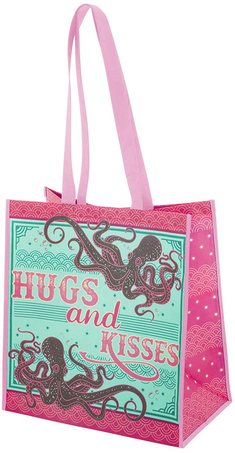 Hugs and Kisses Octopus Tote
