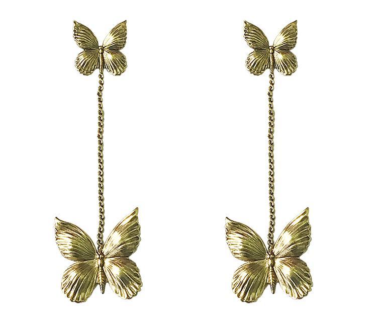 Dangle Butterfly Earrings