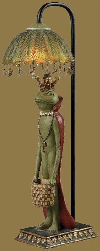King Frog with Basket