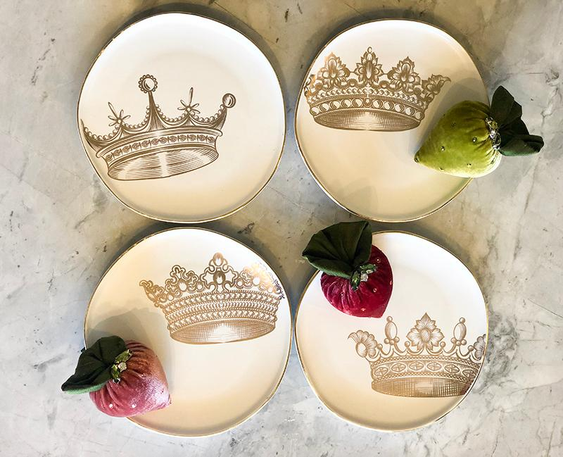 Lithographie Crown Plates
