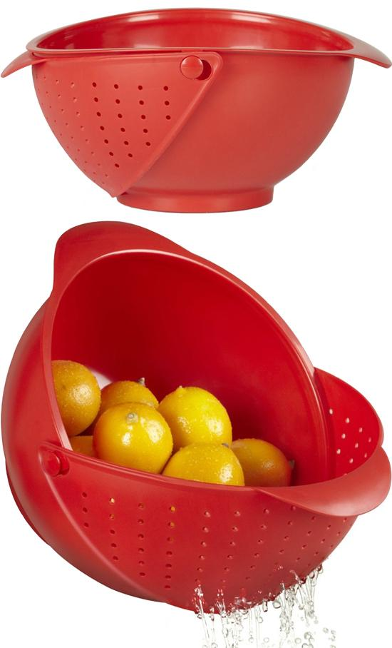 Rinse Bowl and Strainer