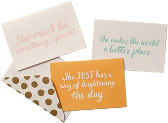 She Note Cards