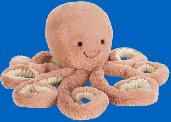 Jellycat - O'Dell Octopus