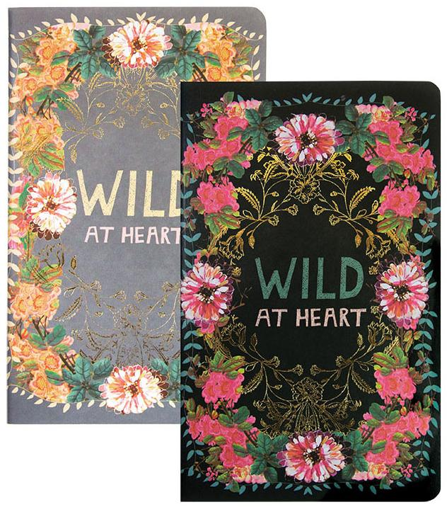 Wild at Heart Notebook set of 2