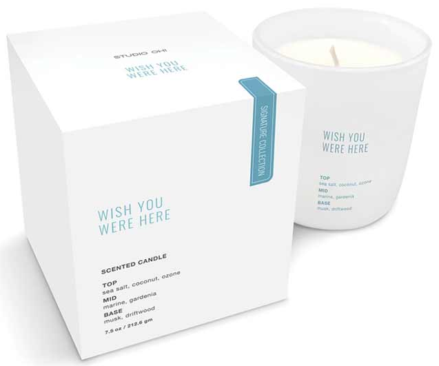 Wish You Were Here Candle