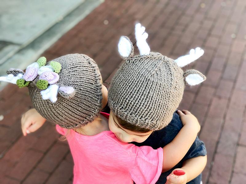 Deer Knit Hats