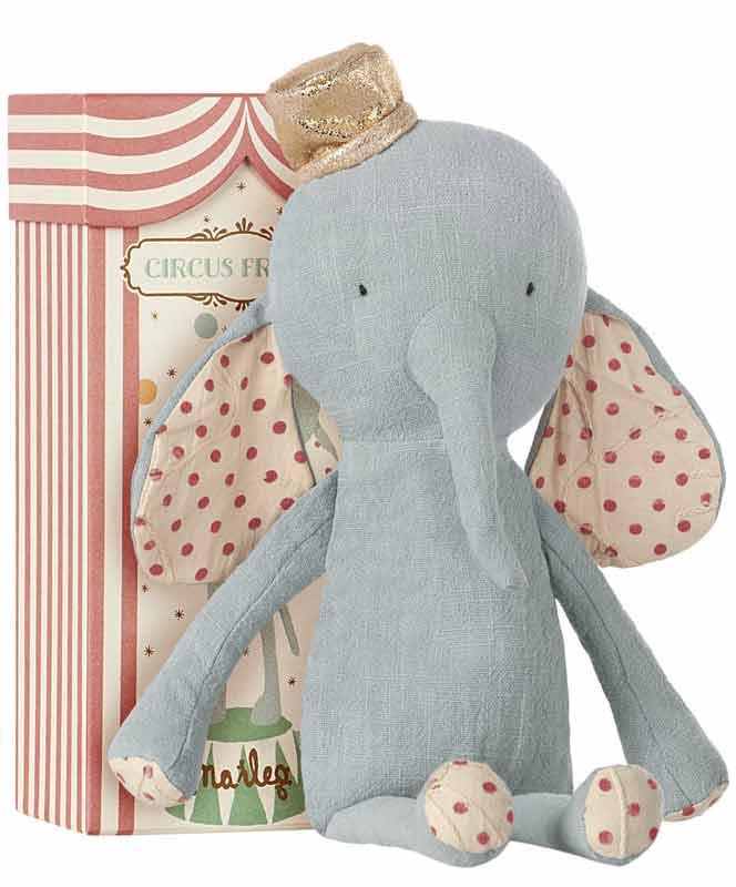 Maileg Circus Friends Blue Elephant