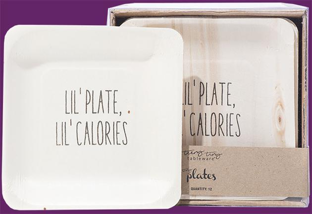 Lil Plate Lil Calories