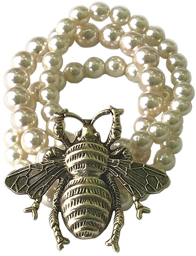 Bee Pearl Bracelet
