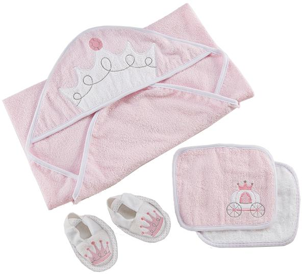 Little Princess 4-Piece Bath Set