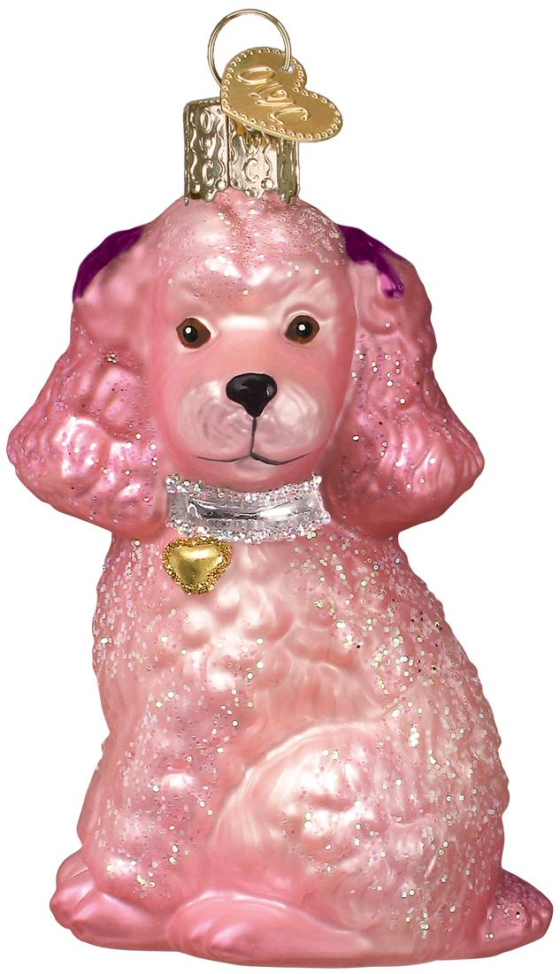 Old World - Poodle - Pink