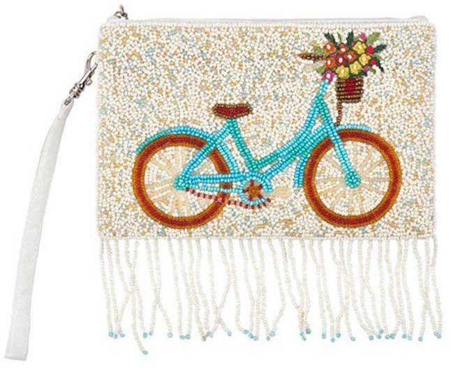 Beaded Bicycle Crossbody