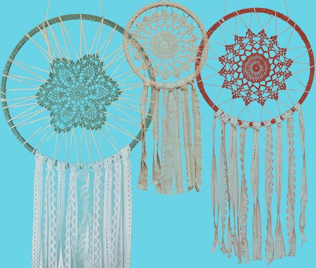 Lace Dream Catchers