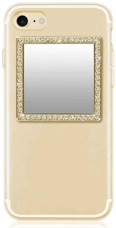Square Gold Phone Mirror