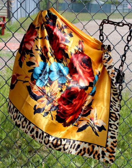 Fiesty Floral Wild Rag