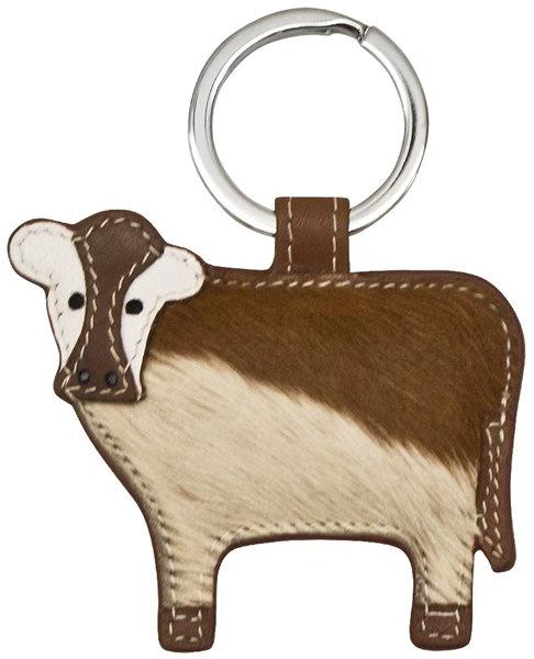 Toffee Cow Key Ring