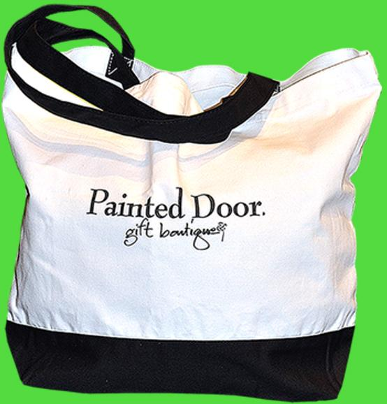 Painted Door Tote-ally Cool Deal