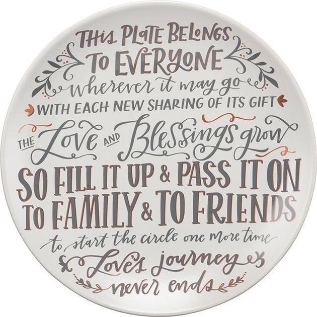 This Plate Belongs to Everyone