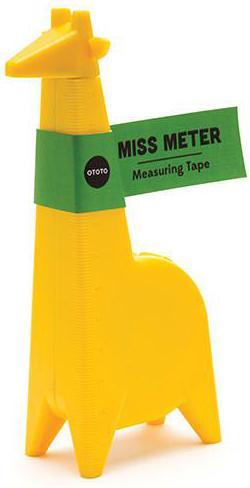 Miss Meter Measuring Tape