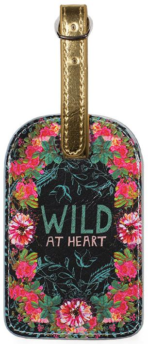 Wild at Heart Luggage Tag