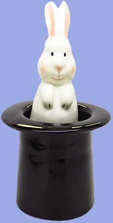 Rabbit & Hat Salt & Pepper