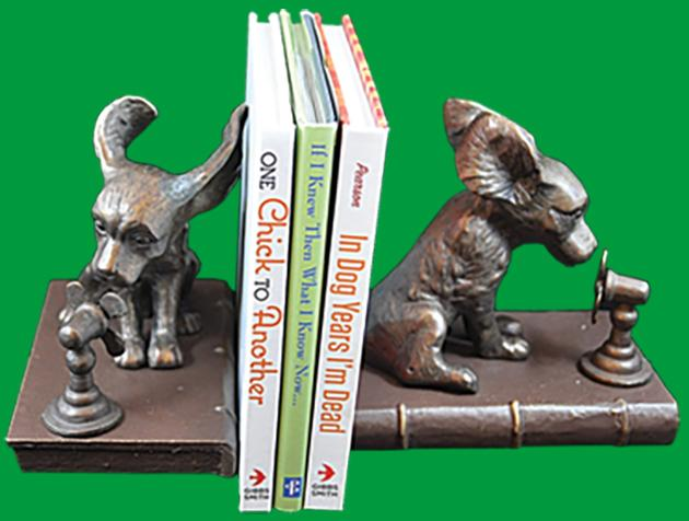 Cool Dogs Bookends