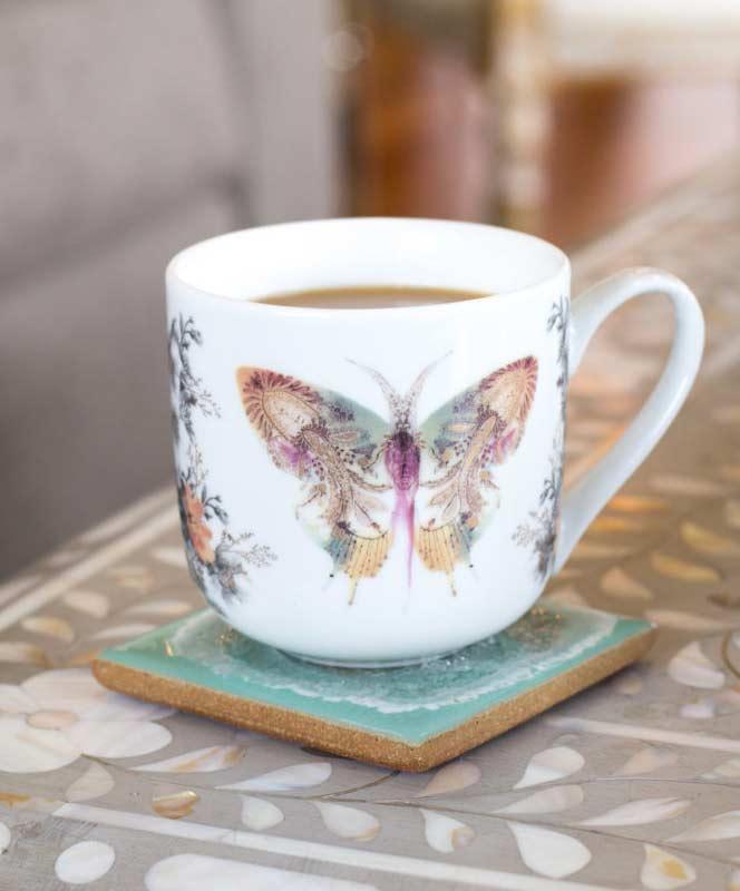 Paisley Butterfly Mug
