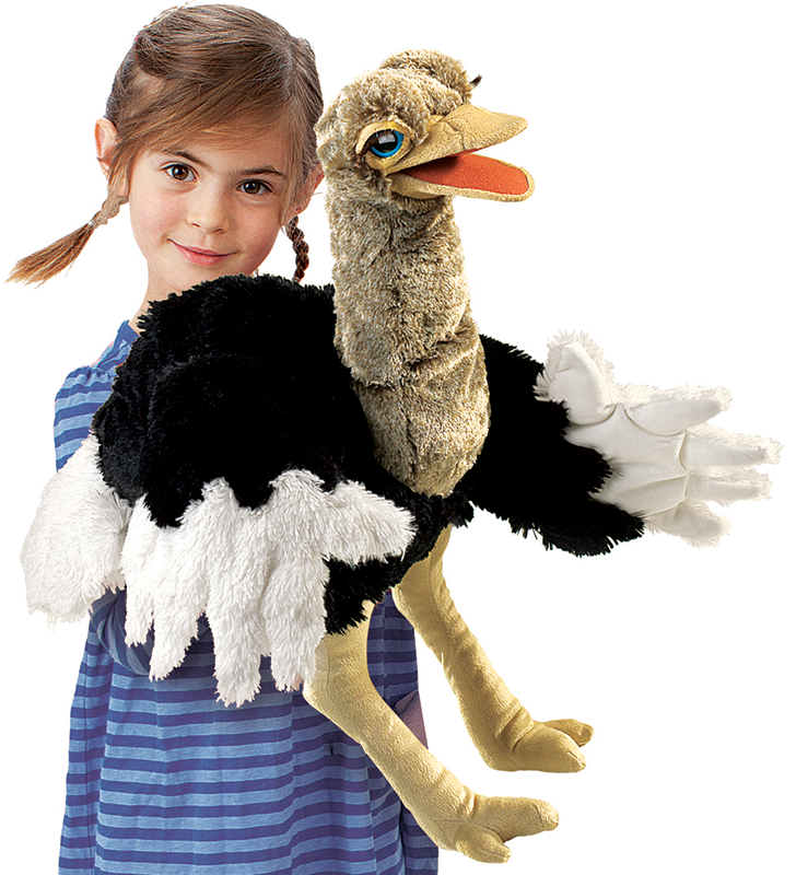 Ostrich Puppet