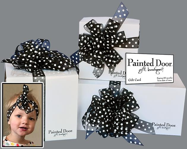 The Perfect Gift - Painted Door Gift Card