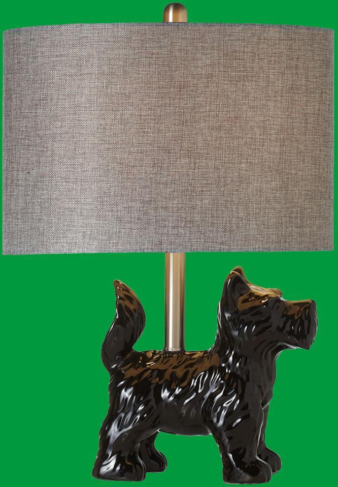 Scottie Dog Accent Lamp