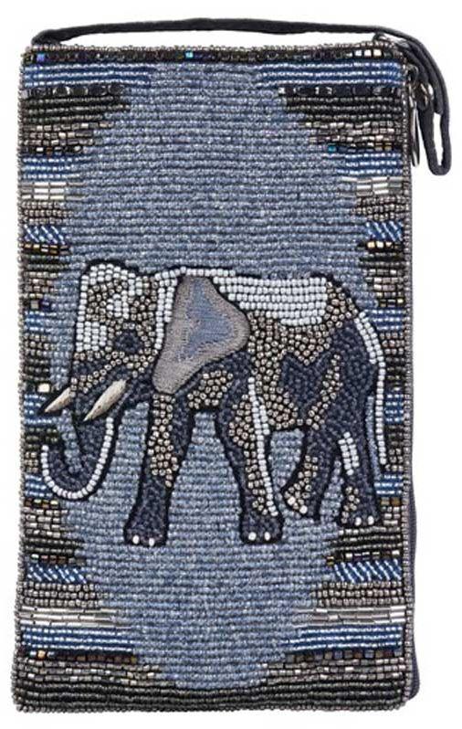 Beaded Elephant Crossbody