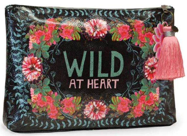 Wild at Heart Large Pouch