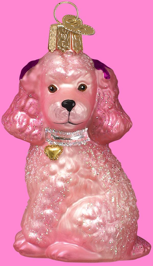 Old World Pink Poodle