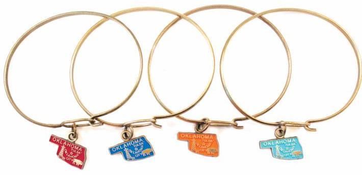 Oklahoma Charm Bracelet