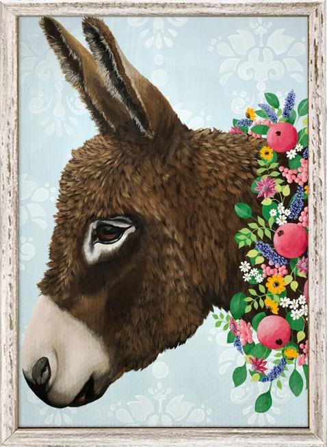 Donkey - 5x7