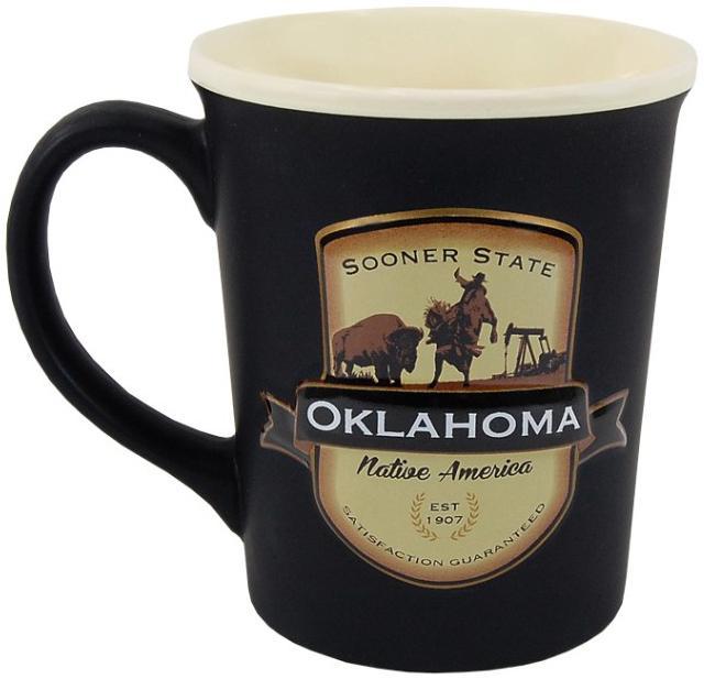 Oklahoma Emblem Mug