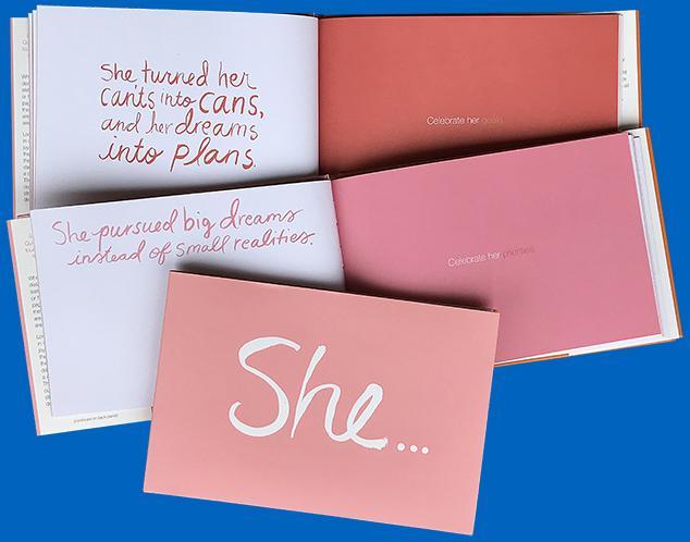 She...book