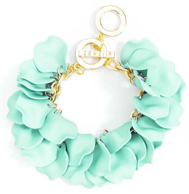 Mint Petals Bracelet