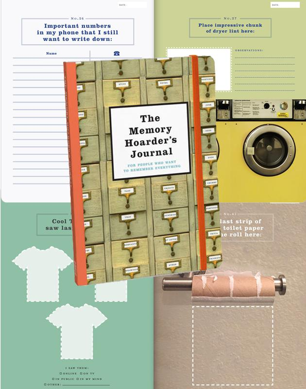 Book - The Memory Hoarder's Journal