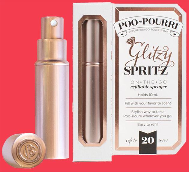 Poo-pourri Glitzy Spritz - Rose Gold