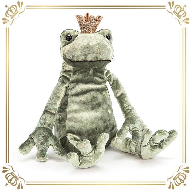 Jellycat - Frog Prince Kiss