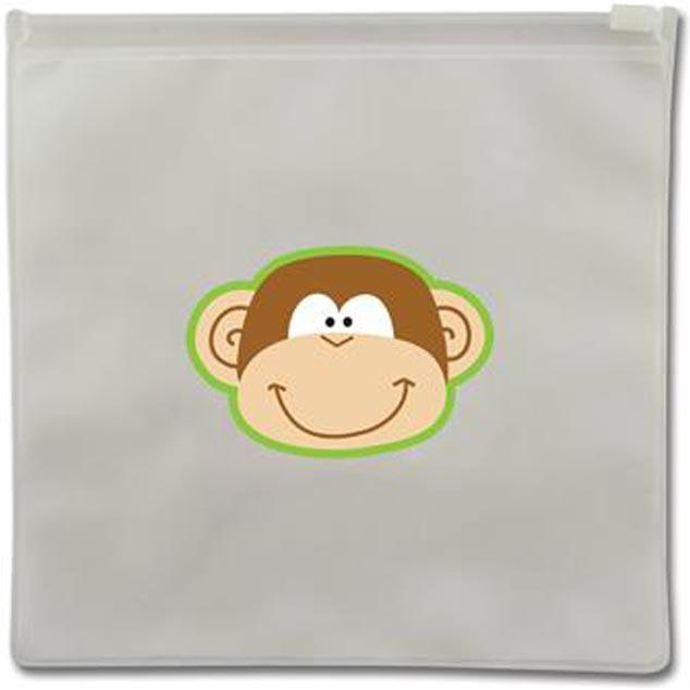 Monkey Reusable Snack Bags