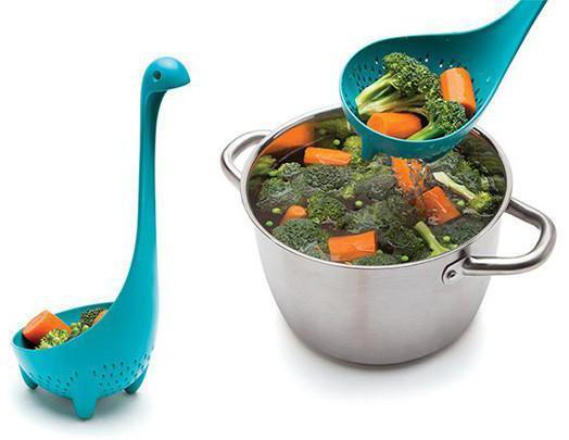 Mamma Nessie Colander Spoon