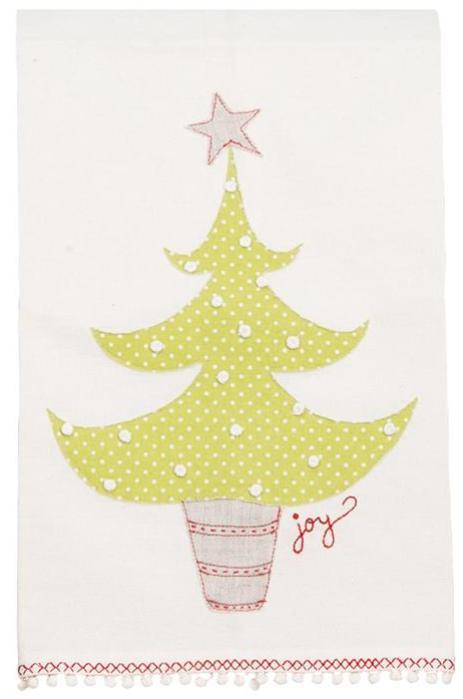 Christmas Tree Joy Dishtowel
