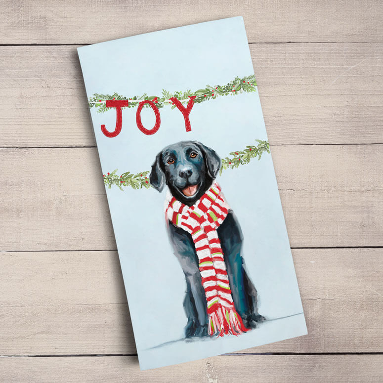 Love Joy Peace Dishtowel