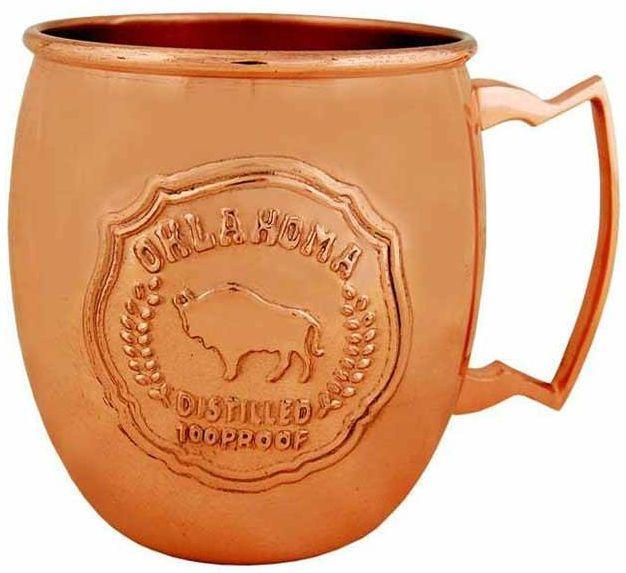 Oklahoma Copper Mule Mug