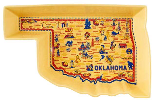 Oklahoma Baking Stoneware Dish