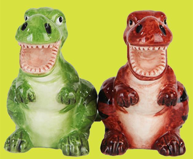 Dinosaur Salt & Pepper Shakers