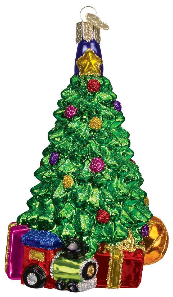 Old World - Christmas Morning Tree