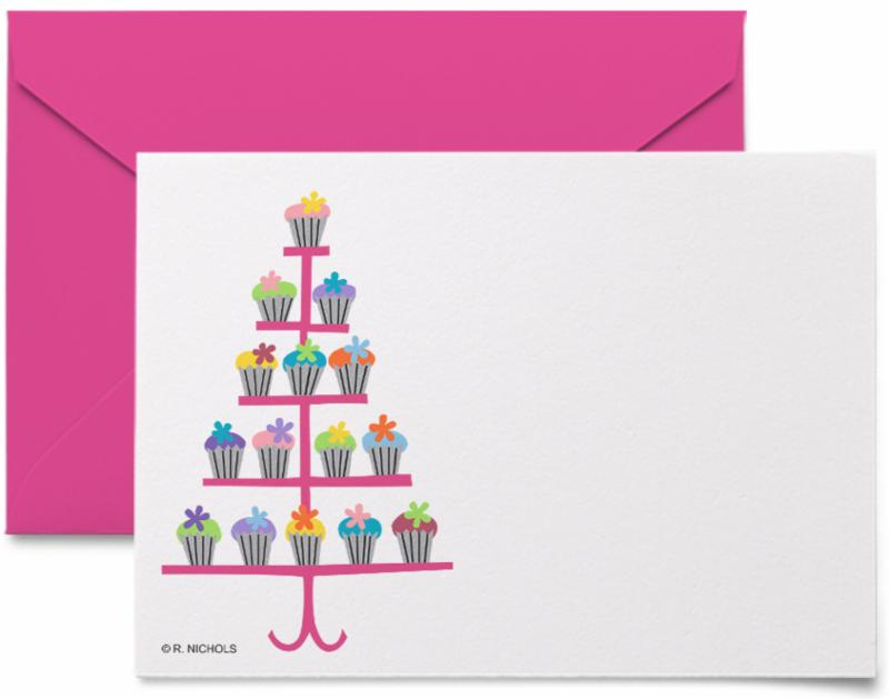 Boxed Gift Tags - Cupcakes